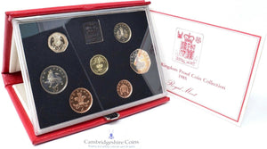 1985 ROYAL MINT PROOF SET DELUXE