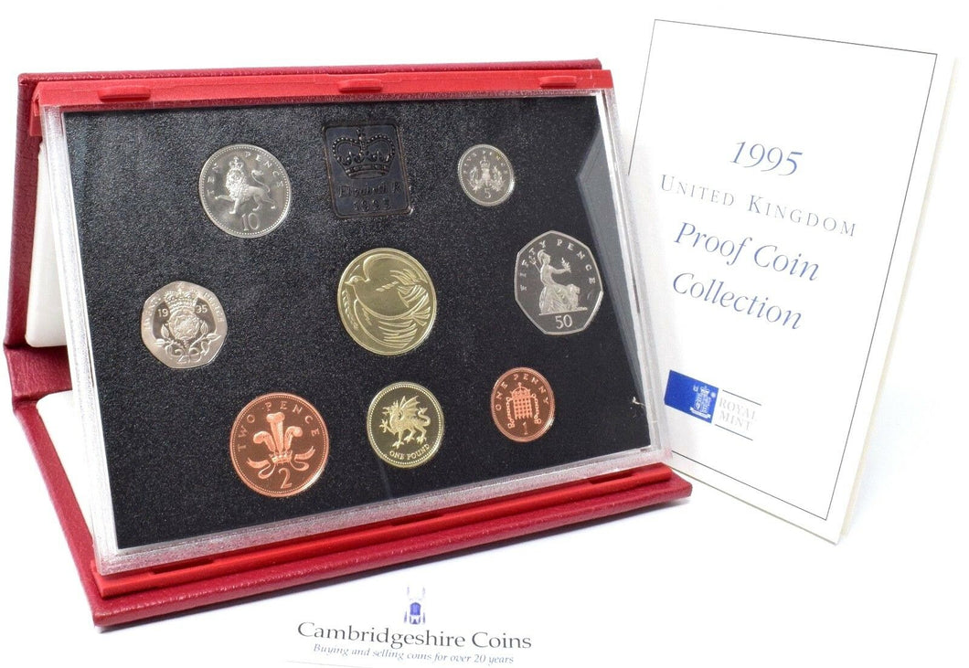 1995 ROYAL MINT PROOF SET DELUXE