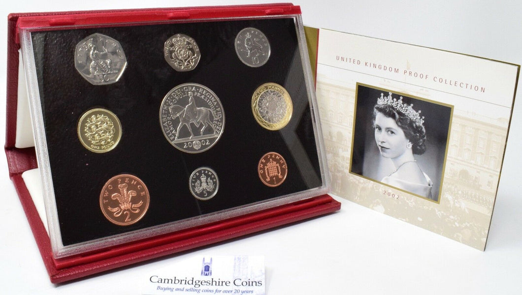 2002 ROYAL MINT PROOF SET DELUXE