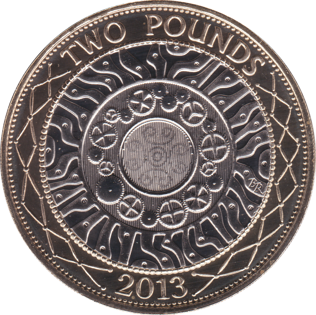 2013 TWO POUND BU £2 SHOULDERS GIANTS