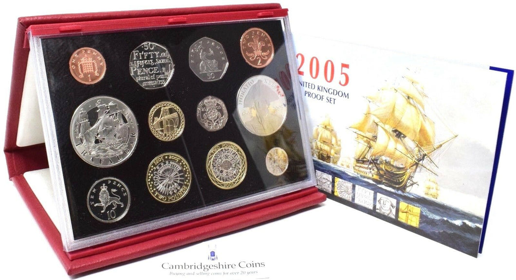 2005 ROYAL MINT PROOF SET DELUXE