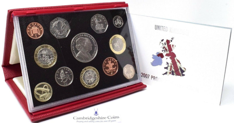 2007 ROYAL MINT PROOF SET DELUXE