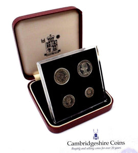 1991 Silver Proof Maundy Money Coin Set Westminster Abbey BOX