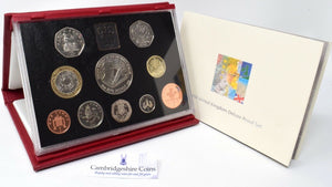 1998 ROYAL MINT PROOF SET DELUXE