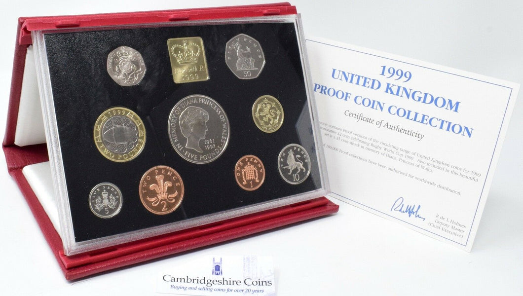1999 ROYAL MINT PROOF SET DELUXE