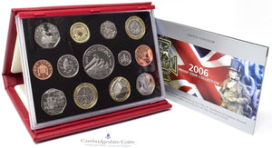 2006 ROYAL MINT PROOF SET DELUXE
