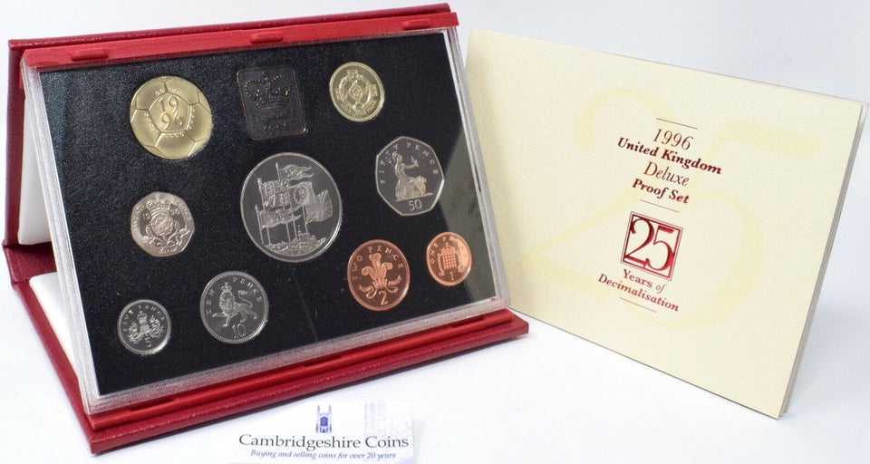 1996 ROYAL MINT PROOF SET DELUXE