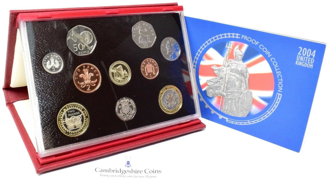 2004 ROYAL MINT PROOF SET DELUXE