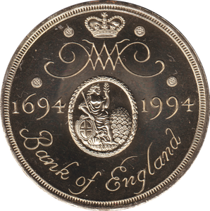 1994 TWO POUND BU £2 TERCENTENARY OF THE BANK ENGLAND