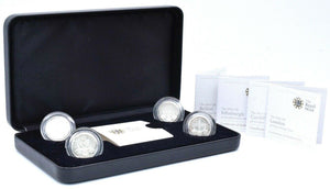 2011 Silver Proof £1 One Pound Piedfort Capital Cities COIN Set Edinburgh London