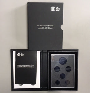 2014 Commemorative Coin Proof Year Set BOX ONLY