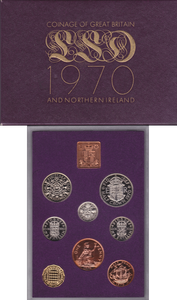 1970  ROYAL MINT  PROOF SET