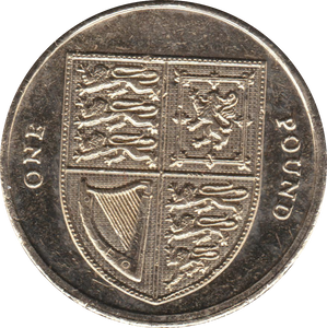 2008 CIRCULATED £1 Shield