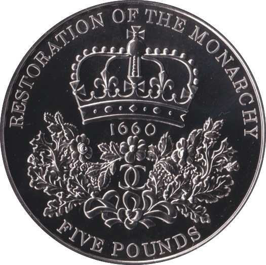 2010 BRILLIANT UNCIRCULATED RESTORATION OF THE MONARCHY £5 COIN BU