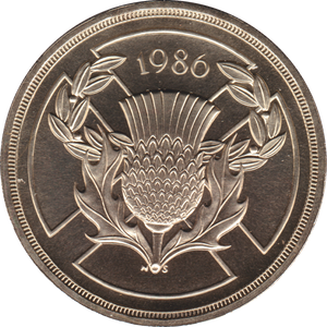 1986 TWO POUND BU £2 COMMONWEALTH GAMES