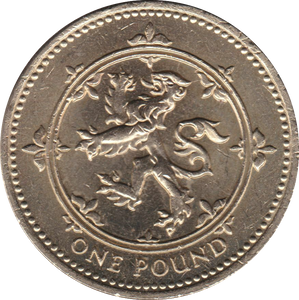 1994 CIRCULATED £1 Scottish Lion