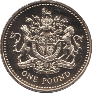 1983 ONE POUND BU £1 ROYAL ARMS