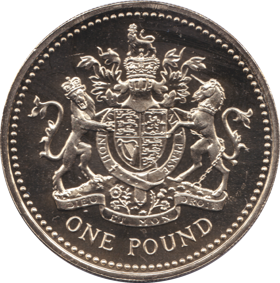 2003 ONE POUND BU £1 ROYAL ARMS