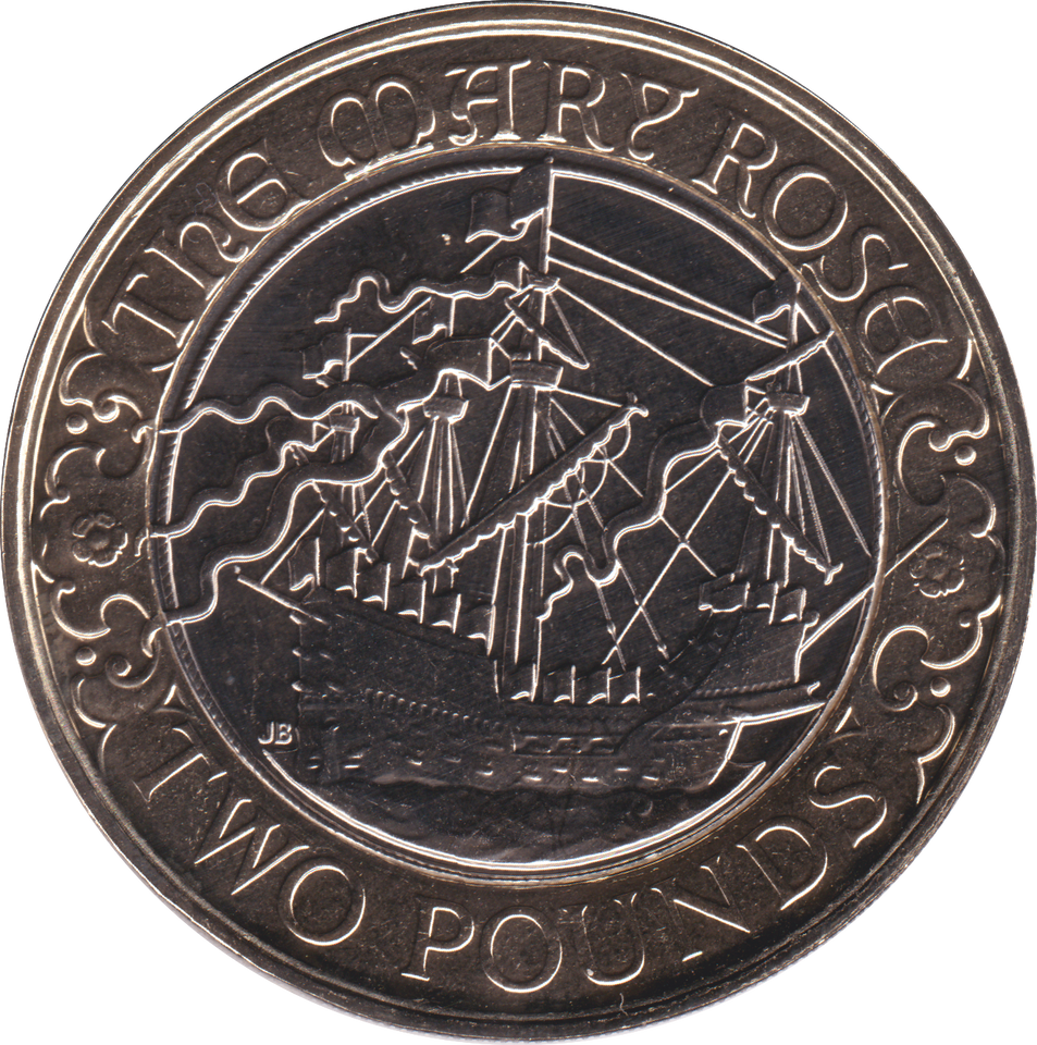2011 TWO POUND BU £2 MARY ROSE