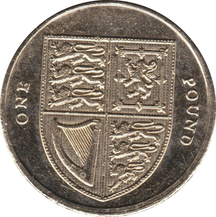 2013 CIRCULATED £1 Shield