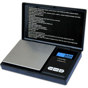 0.1G-500G DIGITAL POCKET WEIGHING MINI COIN SCALES FOR GOLD / SILVER