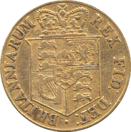 1817 HALF SOVEREIGN ( GF )