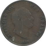 1835 ONE THIRD FARTHING ( NF ) 5