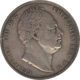 1837 HALFCROWN ( GF ) 8
