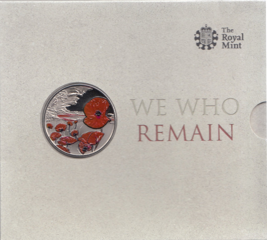 2015 Brilliant Uncirculated £5 Coin Presentation Pack We Who Remain