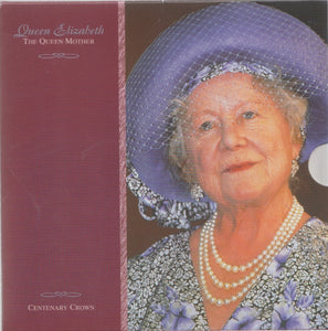 2000 Brilliant Uncirculated £5 Coin Presentation Pack Queen Mother Centenary