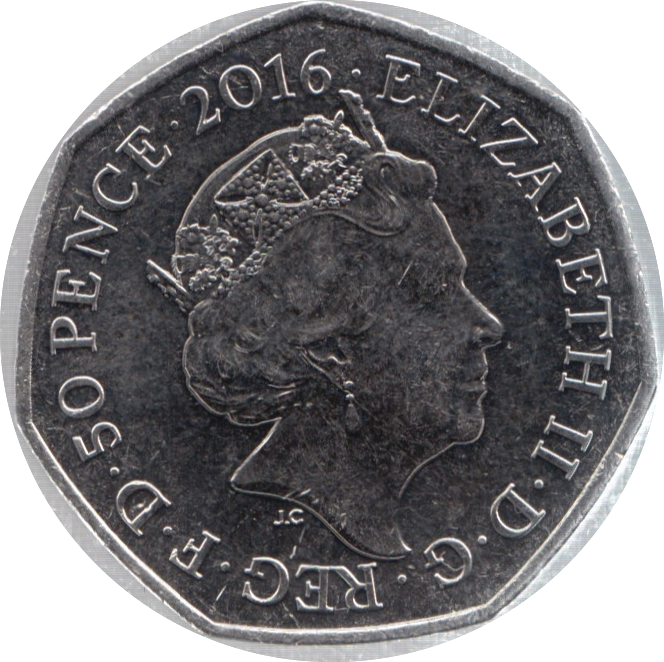 2016 CIRCULATED 50P BEATRIX POTTER
