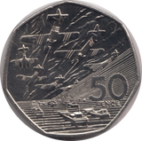 1994 BU Normandy 50p Coin