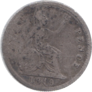 1849 FOURPENCE ( FAIR )