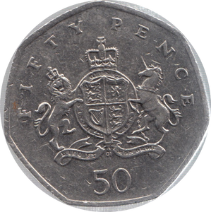 2013 CIRCULATED 50P CHRISTOPHER IRONSIDE BIRTHDAY