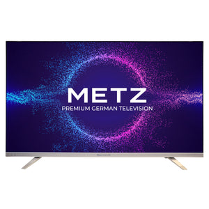 METZ 101 cm (40 inches) Full HD Certified Android Smart LED TV M40E6 (Black and silver)