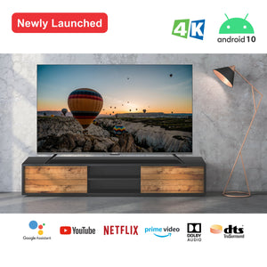 METZ 138 cm (55 Inch) 4K UHD Smart Certified Android TV M55G3