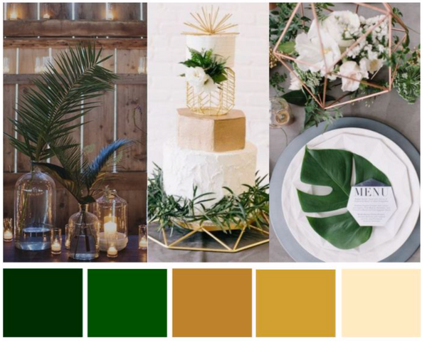 Colour Palette Inspiration: 'Luxurious Jungle'