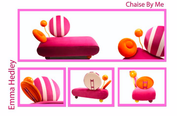 'Chaise By Me' Final Degree Show 2007, 3D Design with Digital Modelling