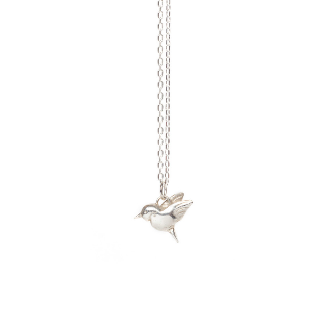 "Little Hummingbird Pendant 18"" Chain"