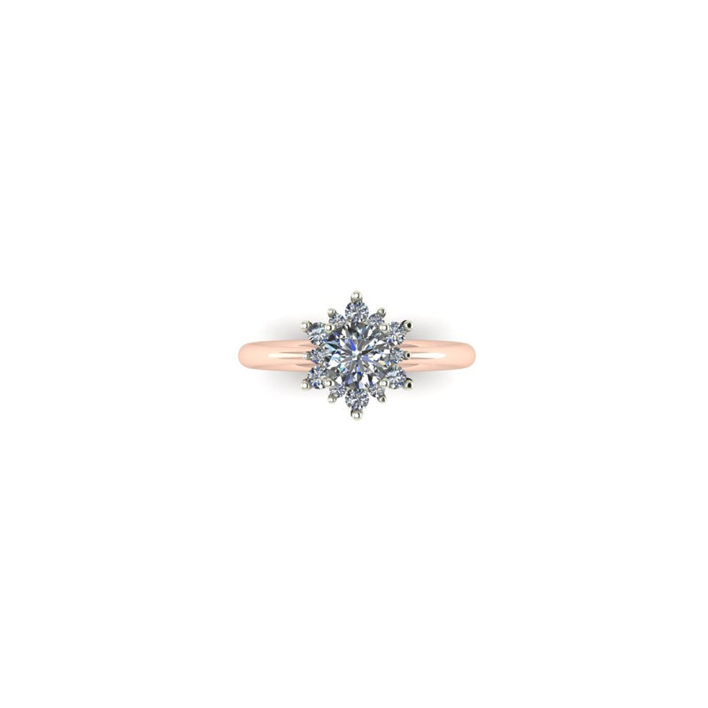 Make a Wish Ring in Rose