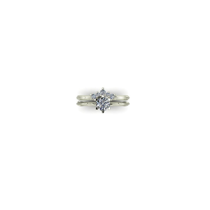 Organic Dew Drop 0.50ct in White
