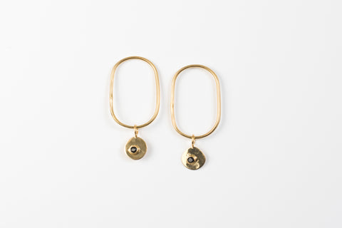 Tracked earrings