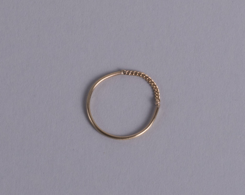 Thin Curb chain ring