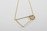 Two Shapes necklace