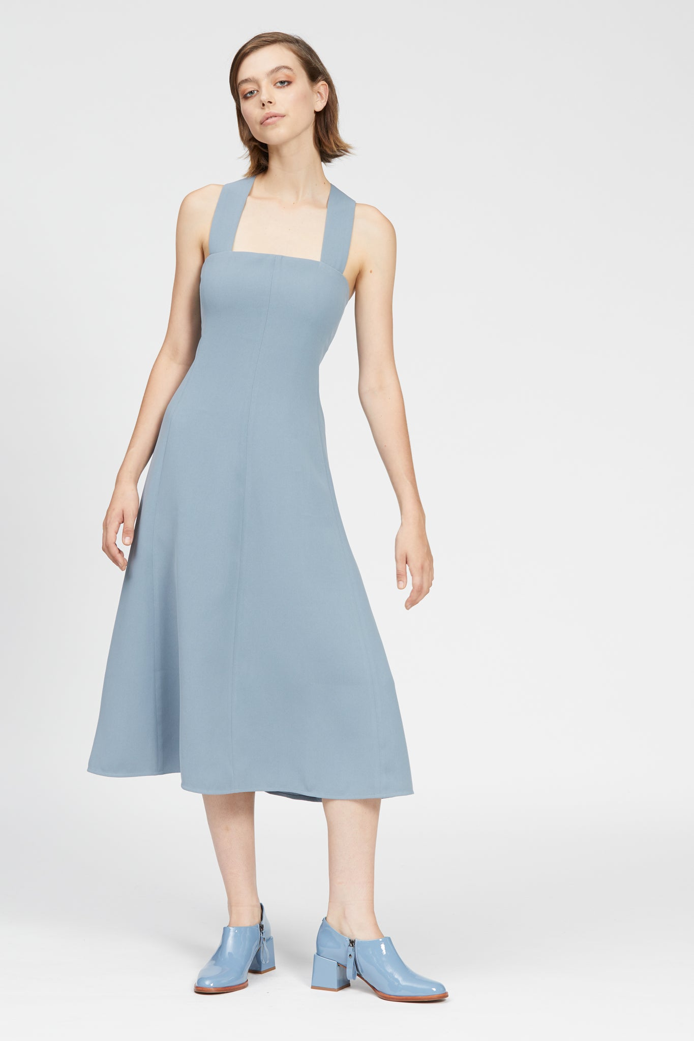 alvera dress blue