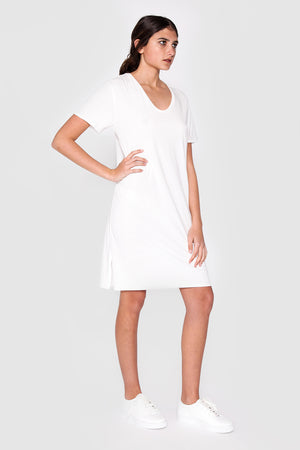 Bayan Dress White