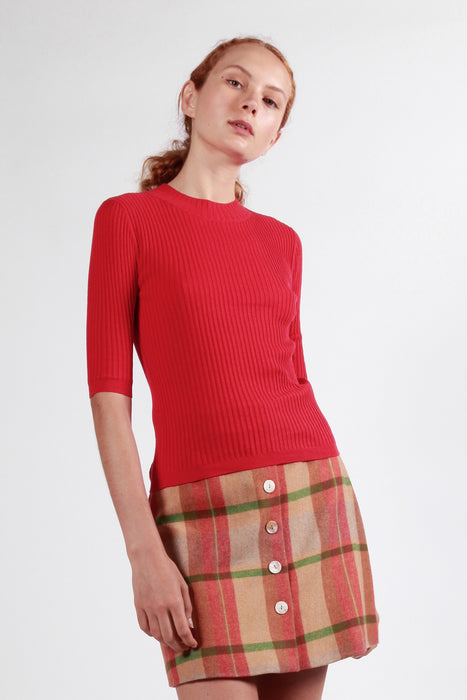 beaumaris top red