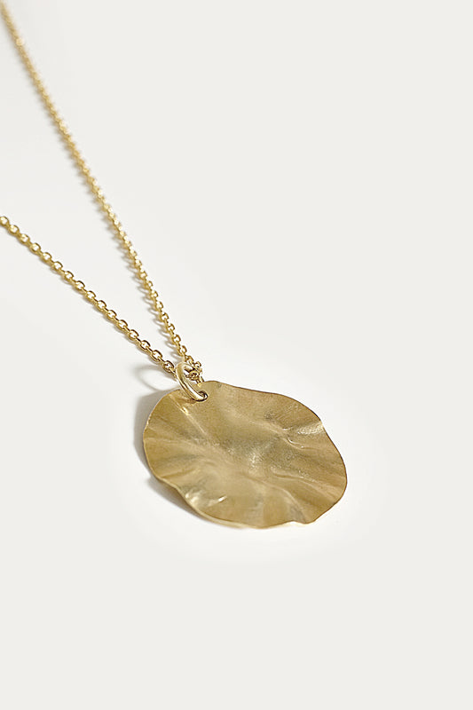 berzelia necklace gold