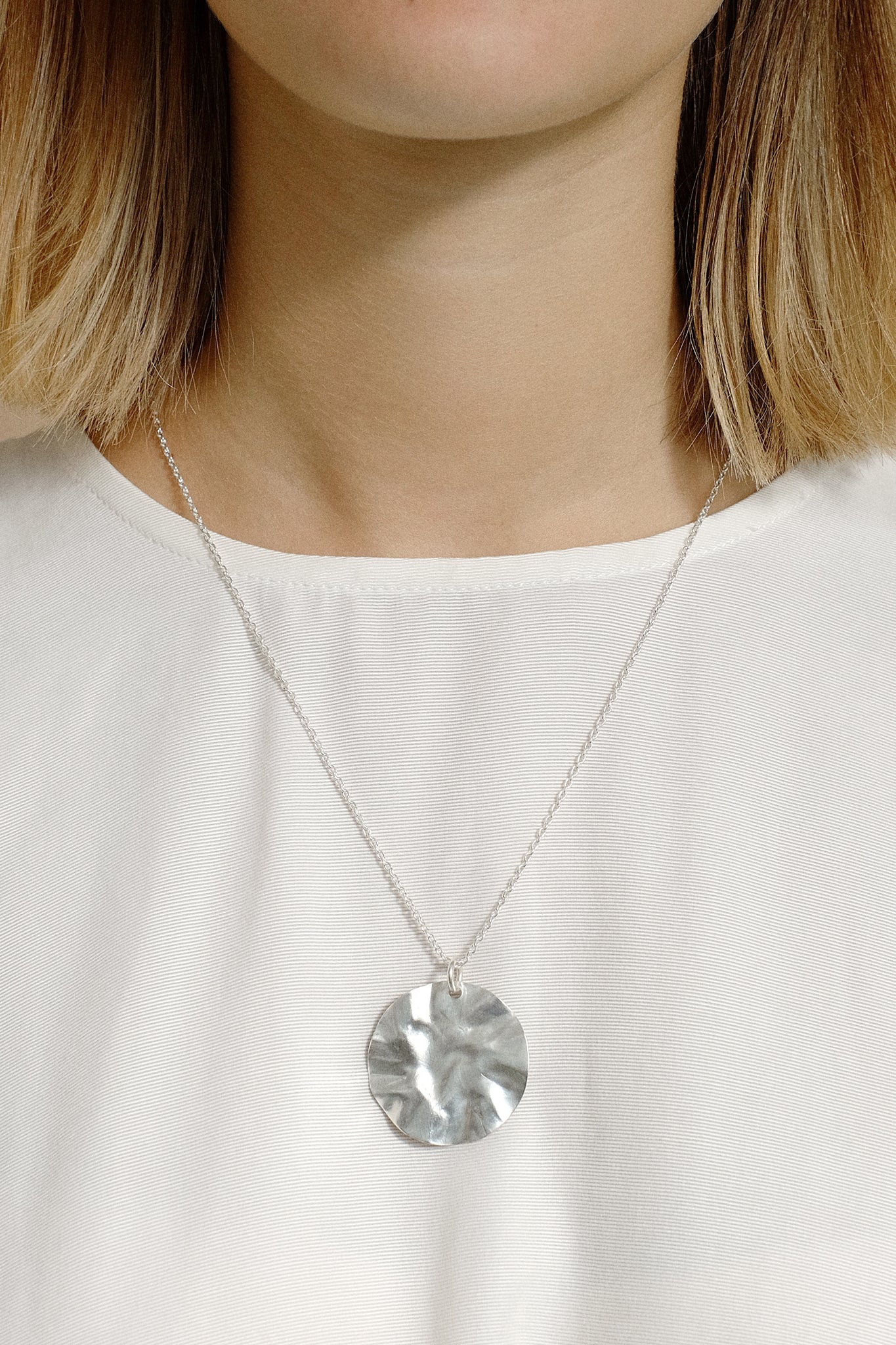 berzelia necklace silver
