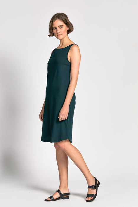 blackrocks dress dark green